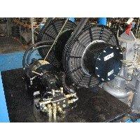 Hydraulic oil spools