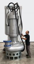 Dragflow largest Electric slurry pump EL300
