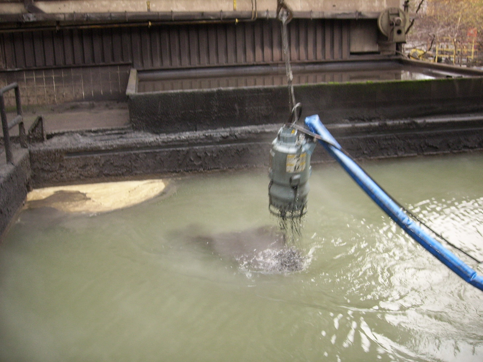 Steel Mill Decanting Pond